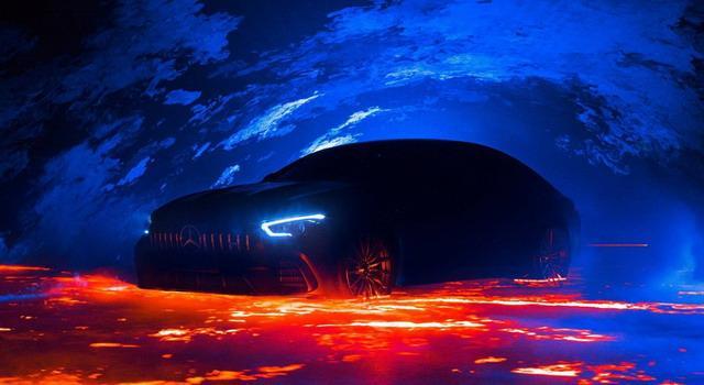 """""""轿跑""""新标杆 AMG GT四门版预告图发布"""
