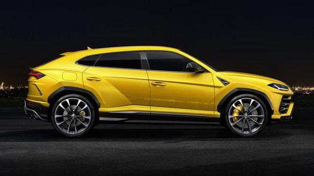 最快量产SUV兰博基尼Urus亮相 售价313万