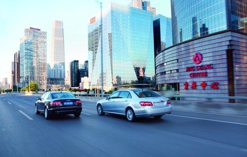 L之争 北京奔驰E300L对决一汽奥迪A6L3.0T