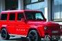 红白色奔驰G55 AMG