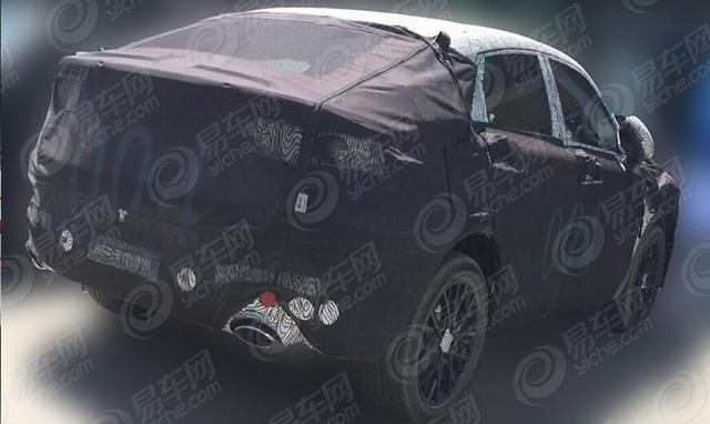 外观微调 吉利全新轿跑SUV插电混动版曝光