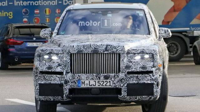 竞争宾利添越 劳斯莱斯SUV命名明年宣布