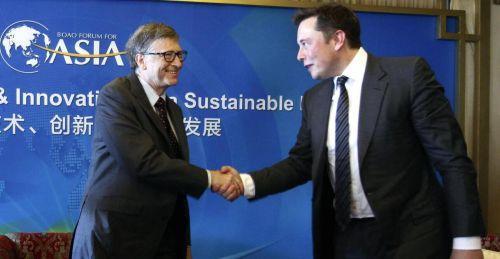 盖茨和马斯克或携手开发清洁能源业务机遇