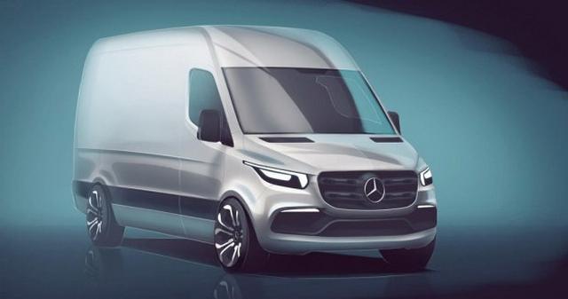 最炫酷的厢式货车 疾驰公布Sprinter设计图