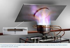 Freudenberg-NOK研发新款硅基材料 符合中国电动车易燃性法规要求