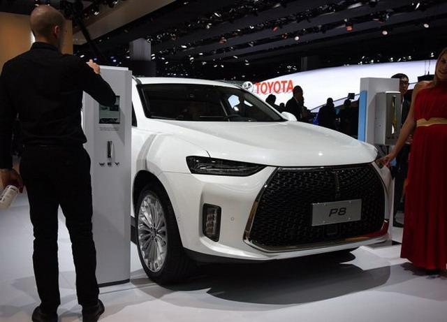 WEY P8/XEV概念车 将于2017广州车展亮相