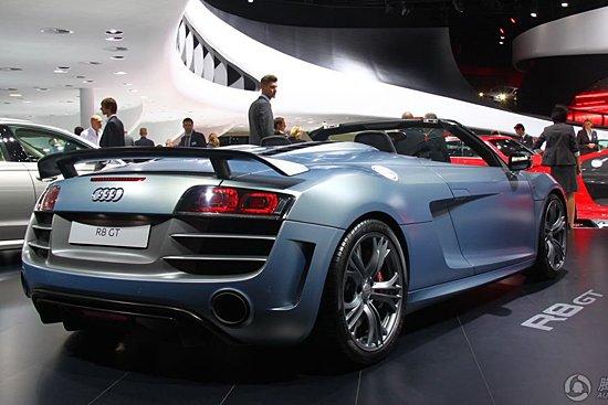 [新车解析]奥迪发布R8 GT Spyder 限量333台