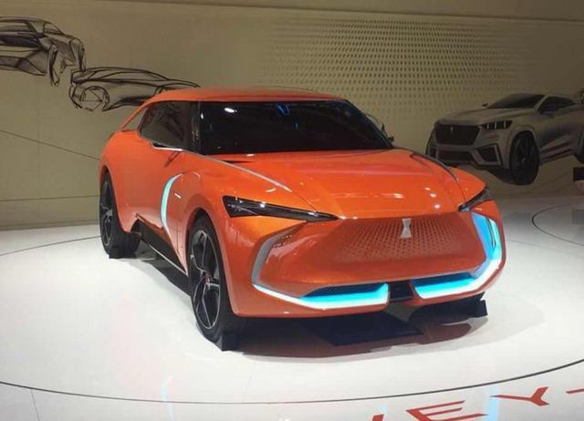 WEY-X概念车正式亮相 智能程度极高