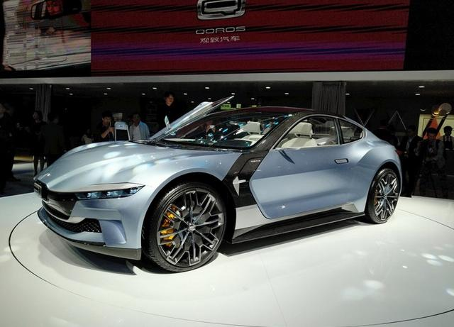 观致全新5G智能电动轿跑概念车 MILE 1正式发布