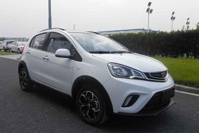 吉利V01预告图发布 定位小型SUV/接替熊猫