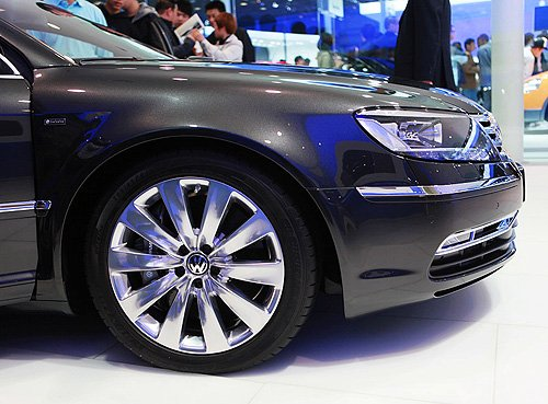 [深度解析]最特别的大众车 感受大众新辉腾