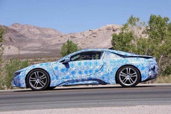 [海外车讯]宝马i8量产版9月亮相 明年上市