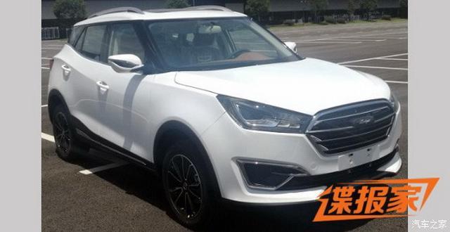 众泰全新小型SUV车型 T300 EV申报图曝光