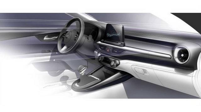 起亚全新Forte预告图 2018北美车展正式发布
