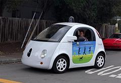 """美国试推""""智能公路"""" 为无人车实时反馈路况"""
