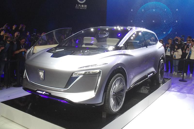 首款5G交互智能概念座舱 荣威Vision-i概念车