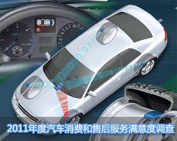 2011年度汽车消费和售后服务满意度调查