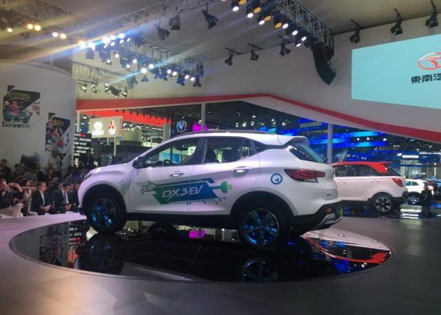 东南DX3 EV补贴后10万左右 或2018年上市
