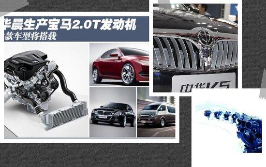 宝马将帮助华晨汽车打造一款内部代号为j11全新的mpv产品高清图片