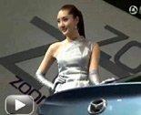 2011上海车展马自达模特