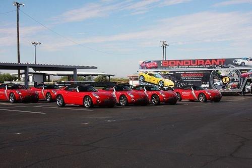 体验美国邦杜兰特赛车学校专业驾驶培训