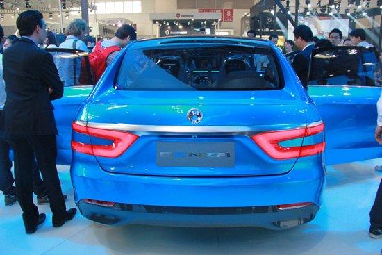腾势首款电动概念车北京车展全球首发亮相