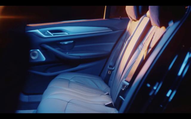 从座椅设计到噪音控制 宝马新5系为车主提供更舒适试驾环境