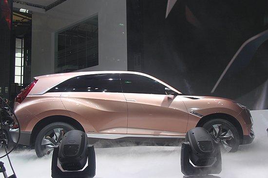[新车解析]讴歌SUV-X概念车首发 未来国产