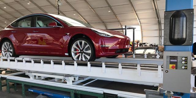 特斯拉取消了Model 3生产测试 被指责忽视安全标准
