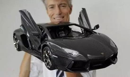 最贵模型车可换12辆兰博基尼