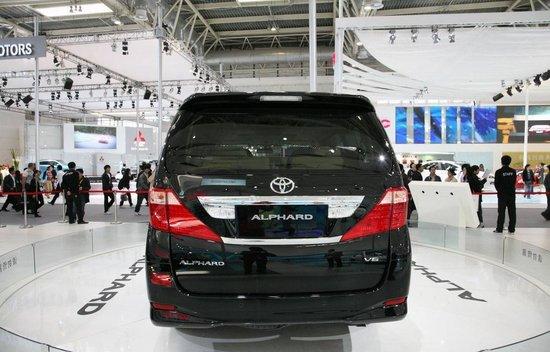 广汽丰田下月将推七座MPV新车阿尔法