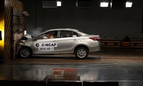 全新VIOS威驰荣获C-NCAP五星好评 销量与实力俱佳