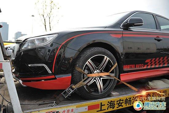 上海车展探营报道 华泰元田B21运动版亮相