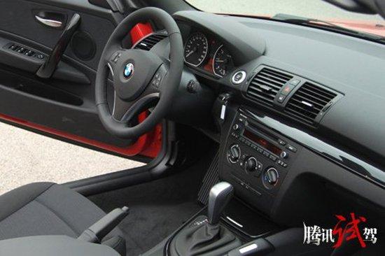 是精灵/不是猛兽 腾讯试驾BMW 1系轿跑车