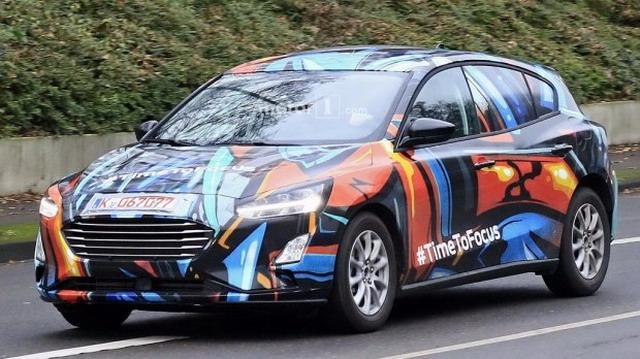将推多款车型 福特新一代福克斯2018年亮相
