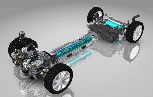 空气混合动力技术高清图片