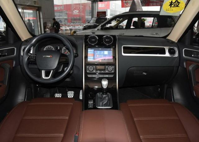 野马T70S运动版新增车型上市 售价8.98万