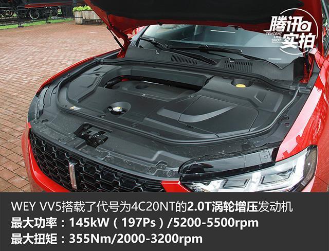 售XX-XX万元 WEY VV5s正式上市