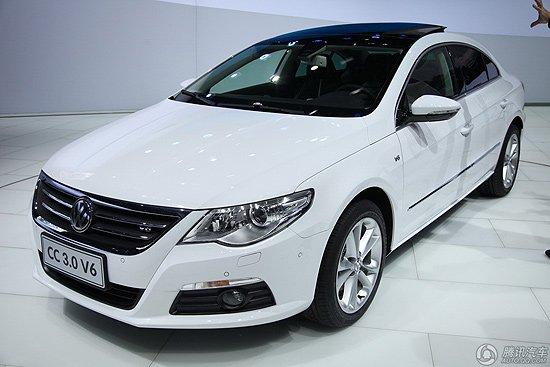 [新车上市]大众CC 3.0L V6上市 售34.98万