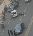不文明驾驶致车祸