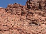 陡峭的戈壁