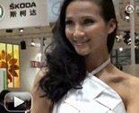 2011上海车展奥迪展台妩媚模特