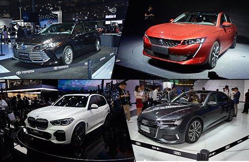 2018广州车展首发新车盘点 奥迪全新A6L/宝马全新X5领衔