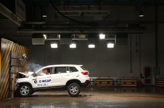 C-NCAP史上最高分 长安CS75演绎安全新高度