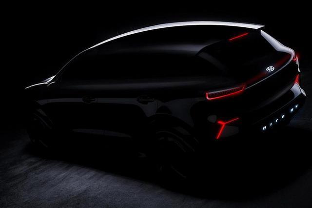 或推两款车型 起亚公布Niro EV概念车预告图
