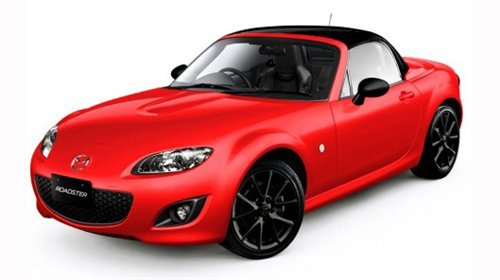 2012款马自达mx 5特别版将会推出红色和白色两种高清图片