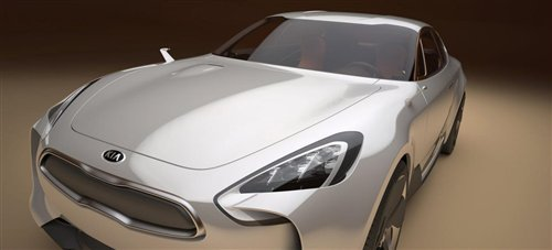法兰克福车展亮相 起亚全新概念车发布