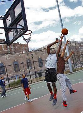 街头篮球风靡全美