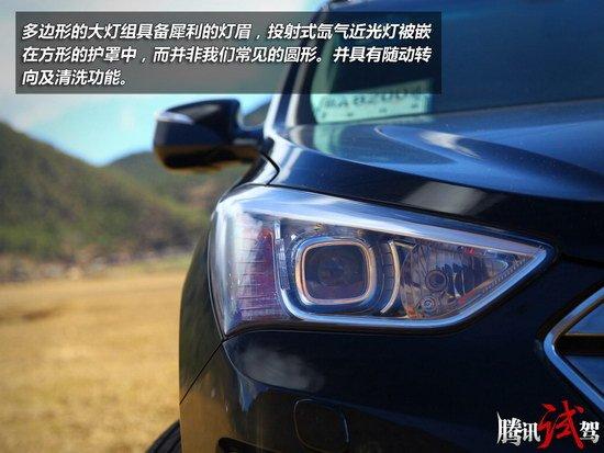 腾讯试驾北京现代全新胜达 脱胎换骨