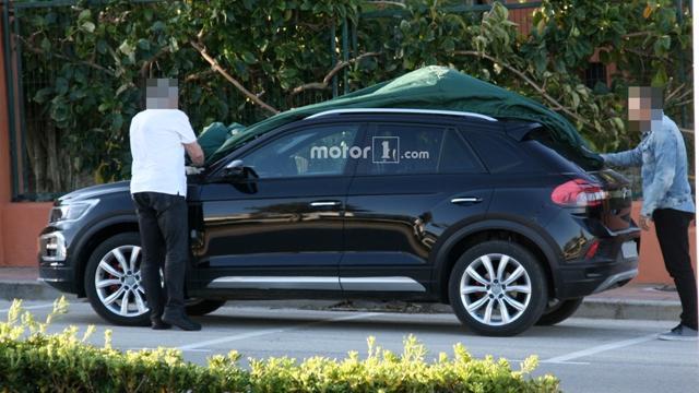 大众全新T-Roc小型SUV谍照曝光 低于途观